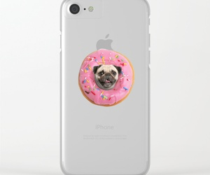 pug, iphone case, and pug love image