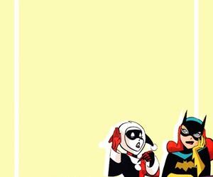 bat girl, harley quinn, and dc comics image