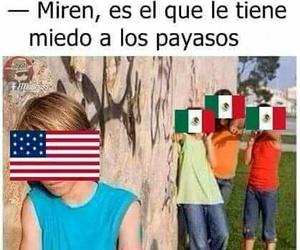 memes, payasos, and méxico image