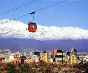 chile, cities, and santiago image