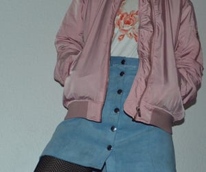 pink, tumblr, and fashion image