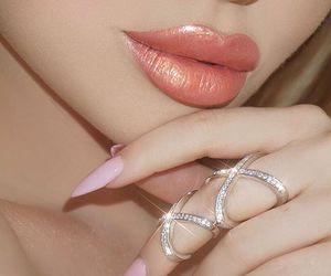 fashion, lips, and makeup image