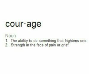 courage and definition image