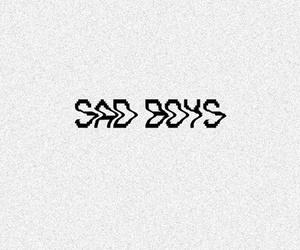 sad, boy, and sad boys image