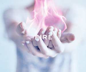 fire, hands, and hand image