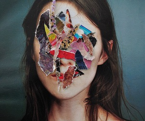 girl, art, and face image