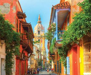 cities, colombia, and cartagena image