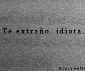 love, idiota, and frases image
