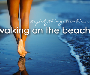 beach and text image