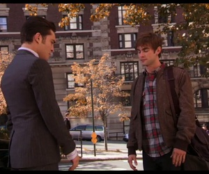 chuck bass, ed westwick, and nate archibald image