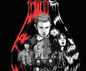 stranger things, eleven, and wallpaper image