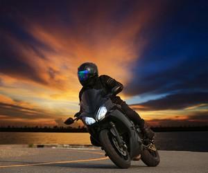 bike, black, and fondo image