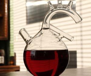 biology, bottle, and decanter image