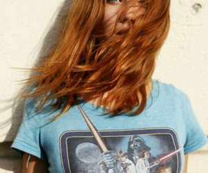 girl, star wars, and hair image