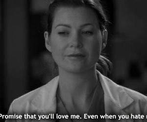 grey's anatomy, quote, and promise image