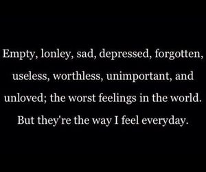 sad, depressed, and forgotten image