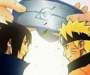 naruto, sasuke, and naruto shippuden image