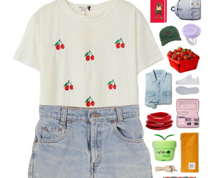 berry, casual, and cherry image