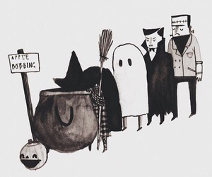 ghost, vampire, and witch image