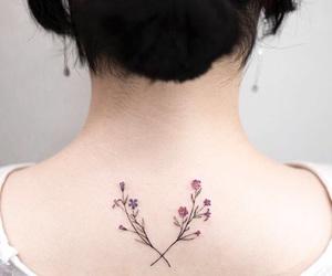 inked, tattoo, and inked girl image