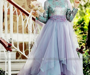 dress, evening, and glitter image