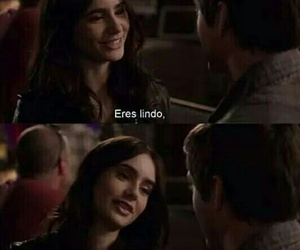 love, lily collins, and logan lerman image