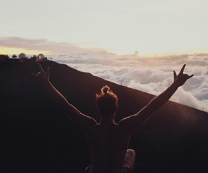 clouds, hawaii, and trip image