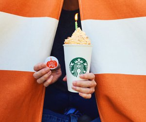delicious, starbucks, and yummy image