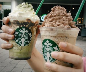 coffee, delicious, and starbucks image
