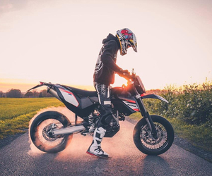 man, motocross, and passion image