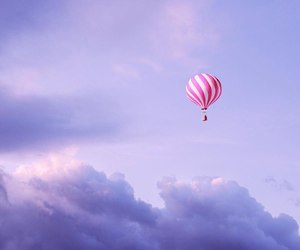 sky, blue, and pink image