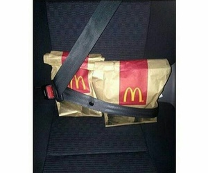 food, McDonalds, and funny image