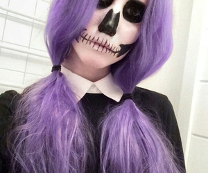 girl, hair, and Halloween image
