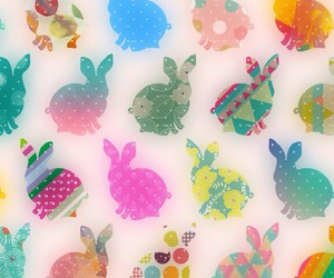 wallpaper, bunny, and easter image