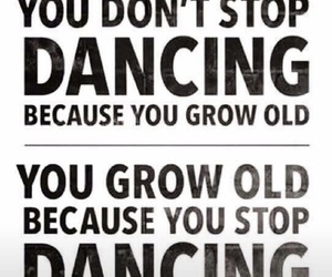 dance, life, and quote image