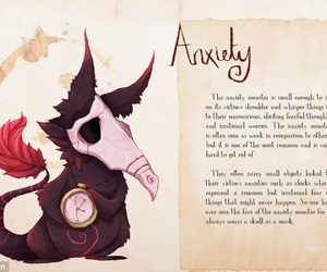 anxiety, keep fighting, and mental illness image