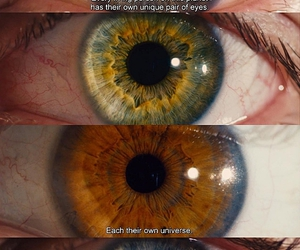beautiful, eyes, and universe image