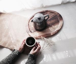 coffee, morning, and tea image