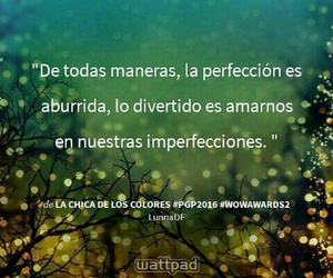 amor, frases, and perfecto image