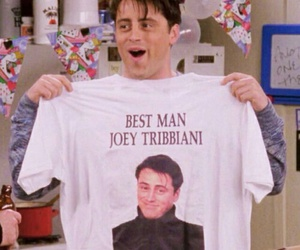 friends, joey tribbiani, and 90s image