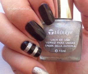 autumn, cosmetics, and nail image