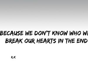 break, trust, and feelings image