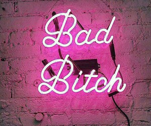pink, bad, and neon image