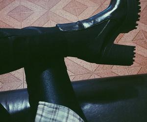 alternative, black pants, and fashion image