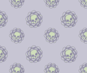deadly, flower, and flower pattern image