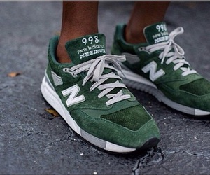 new balance, fashion, and shoes image