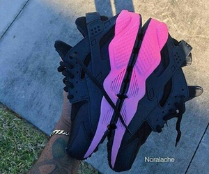 pink, nike, and purple image