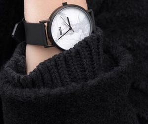 black, watch, and cluse image