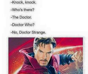 Marvel, doctor strange, and funny image