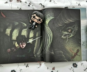 book, chamber of secrets, and harry potter image